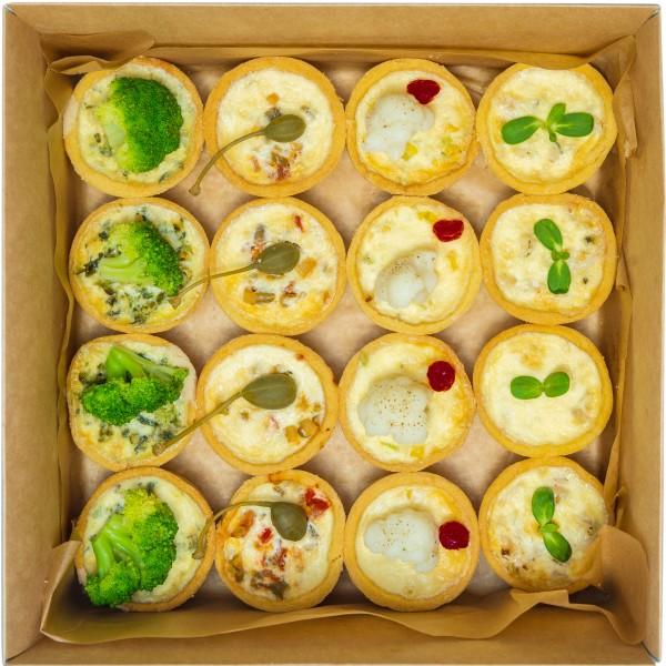 Киш лорен vegetarian box