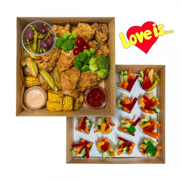 Snack double box