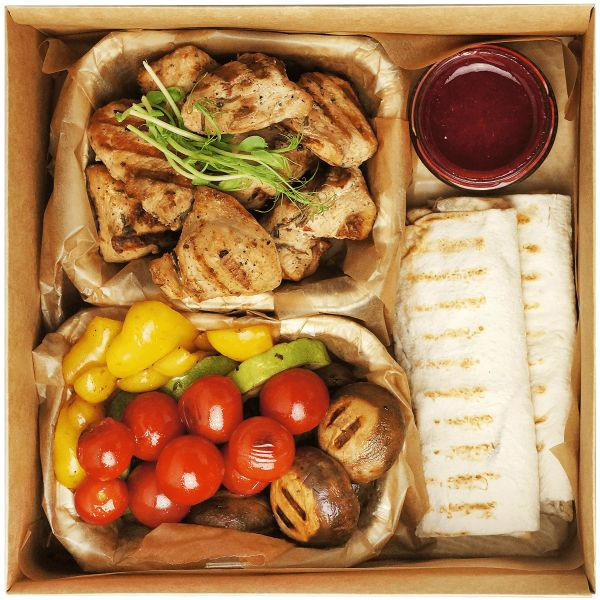 Grill chicken smart box