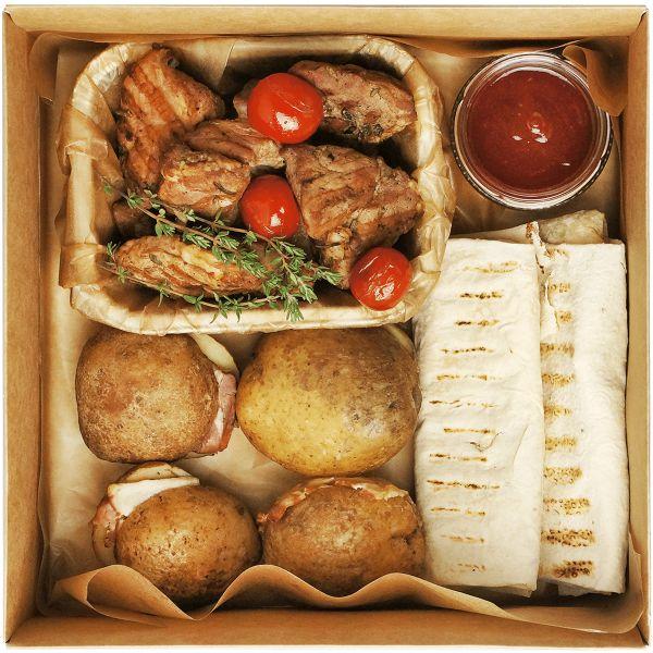 Grill pork box