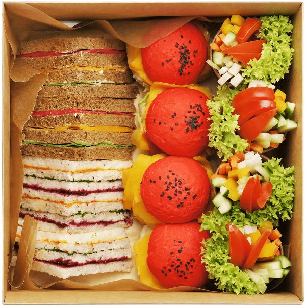 Kids sandwich smart box