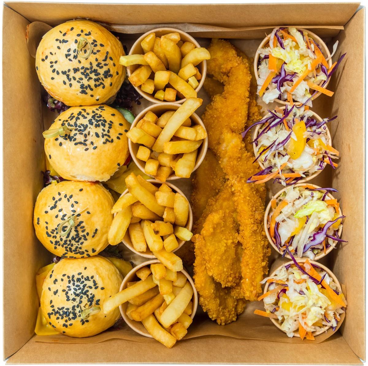 Mini burgers classic box фото 1