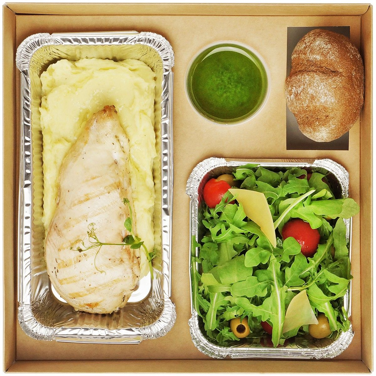 Chicken Lunch box №2: 400 грн. фото 4