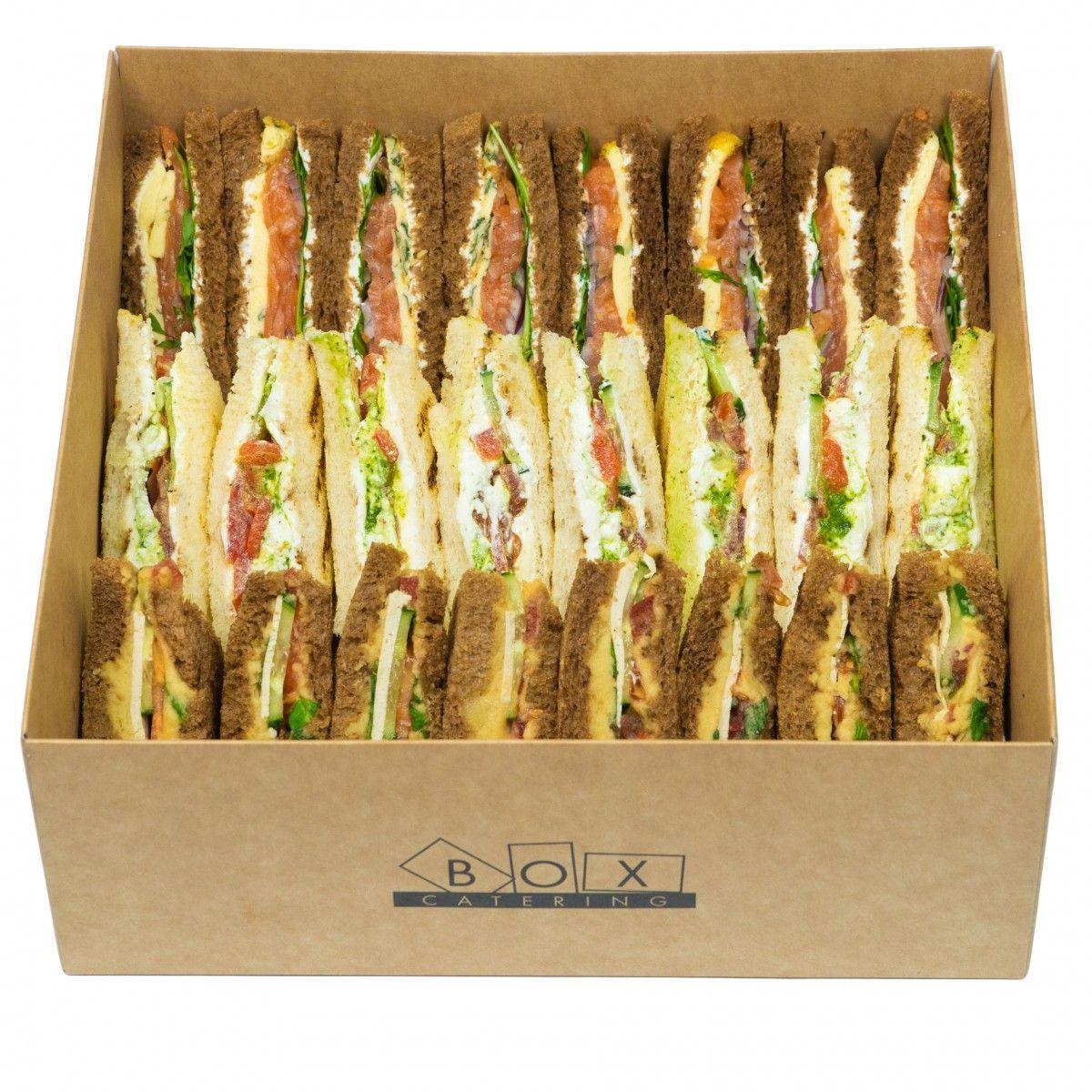 Sandwich vegetarian box фото 2