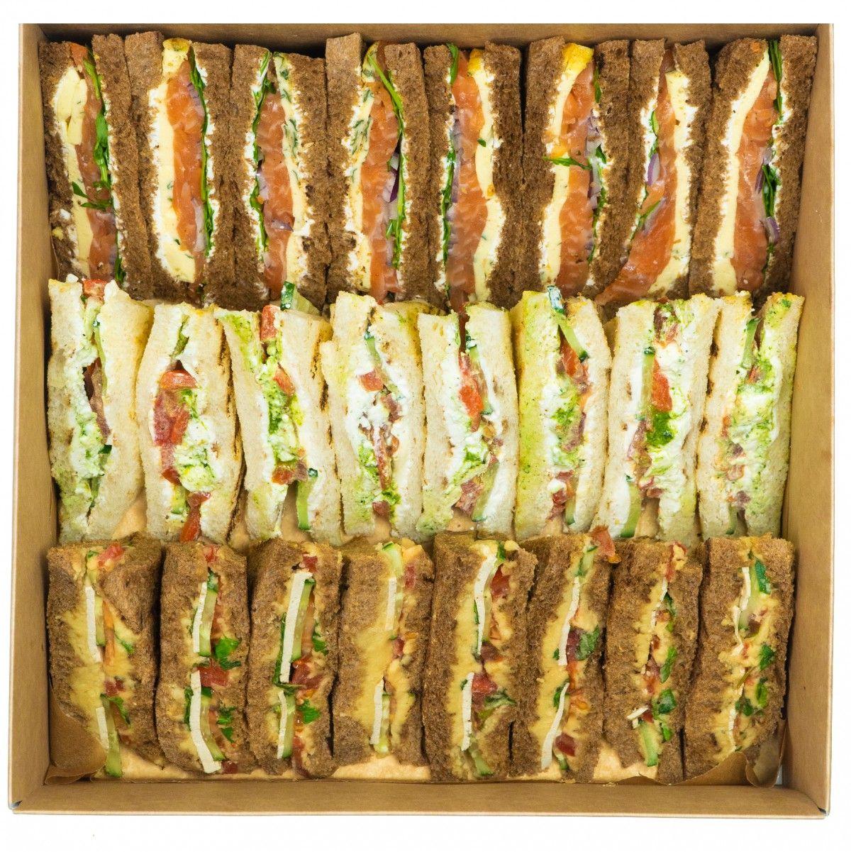 Sandwich vegetarian box фото 1