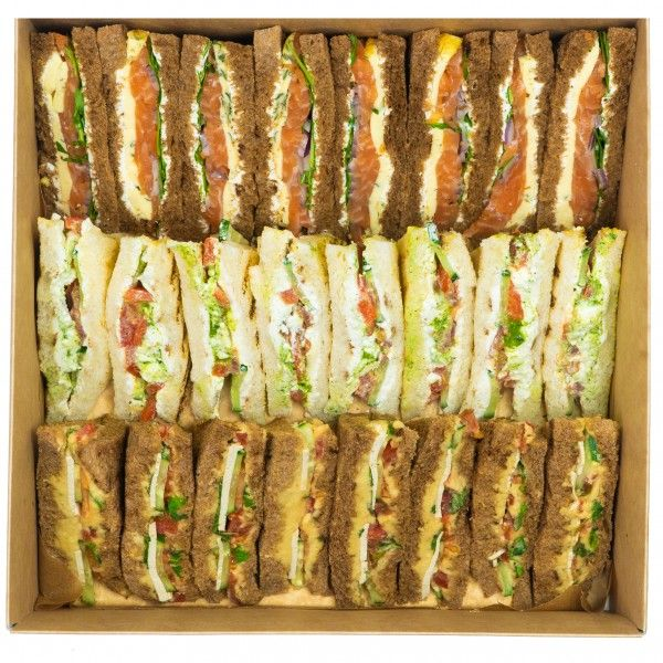Sandwich vegetarian box