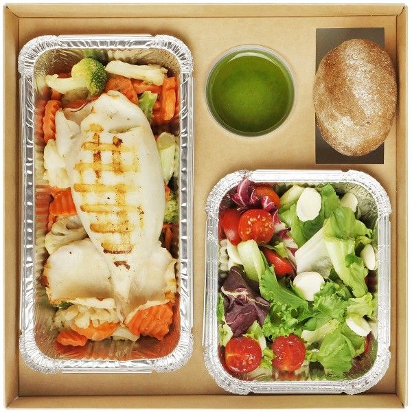 Fish Lunch box №2