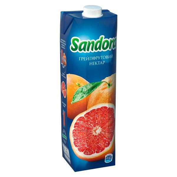 Сок Sandora грейпфрутовый фото 1