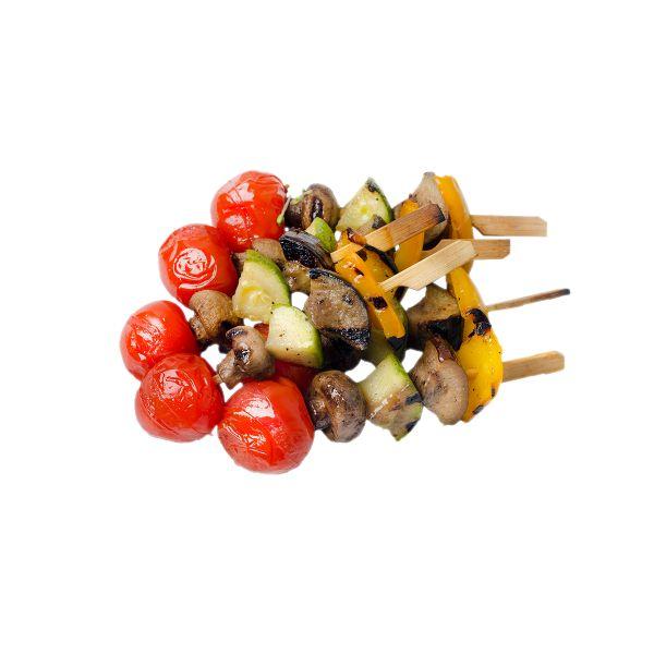 Мини-шашлычок из овощей гриль