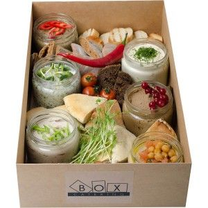 Sandwich spread box