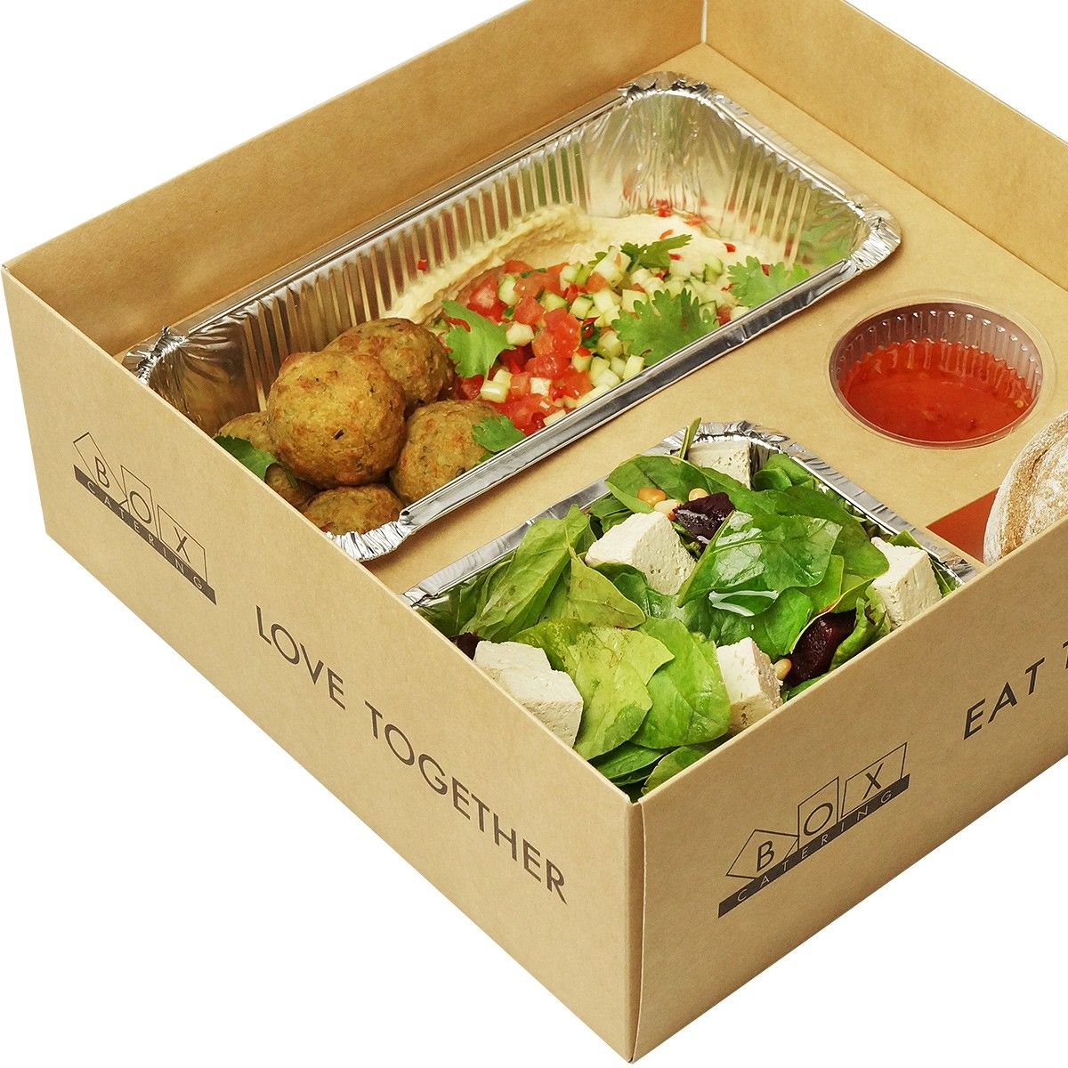 Vegan lunch box фото 3