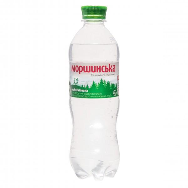 Вода Моршинская слабогазированая