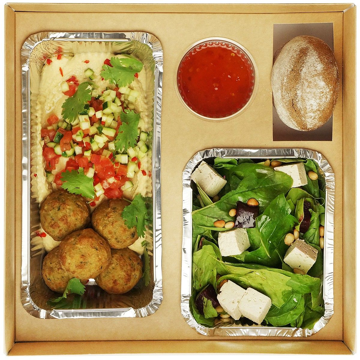 Vegetarian Lunch box №1 фото 1