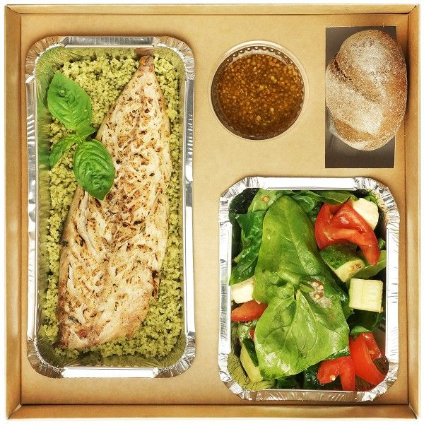 Fish Lunch box №1