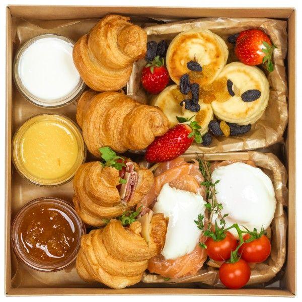 Breakfast лосось box