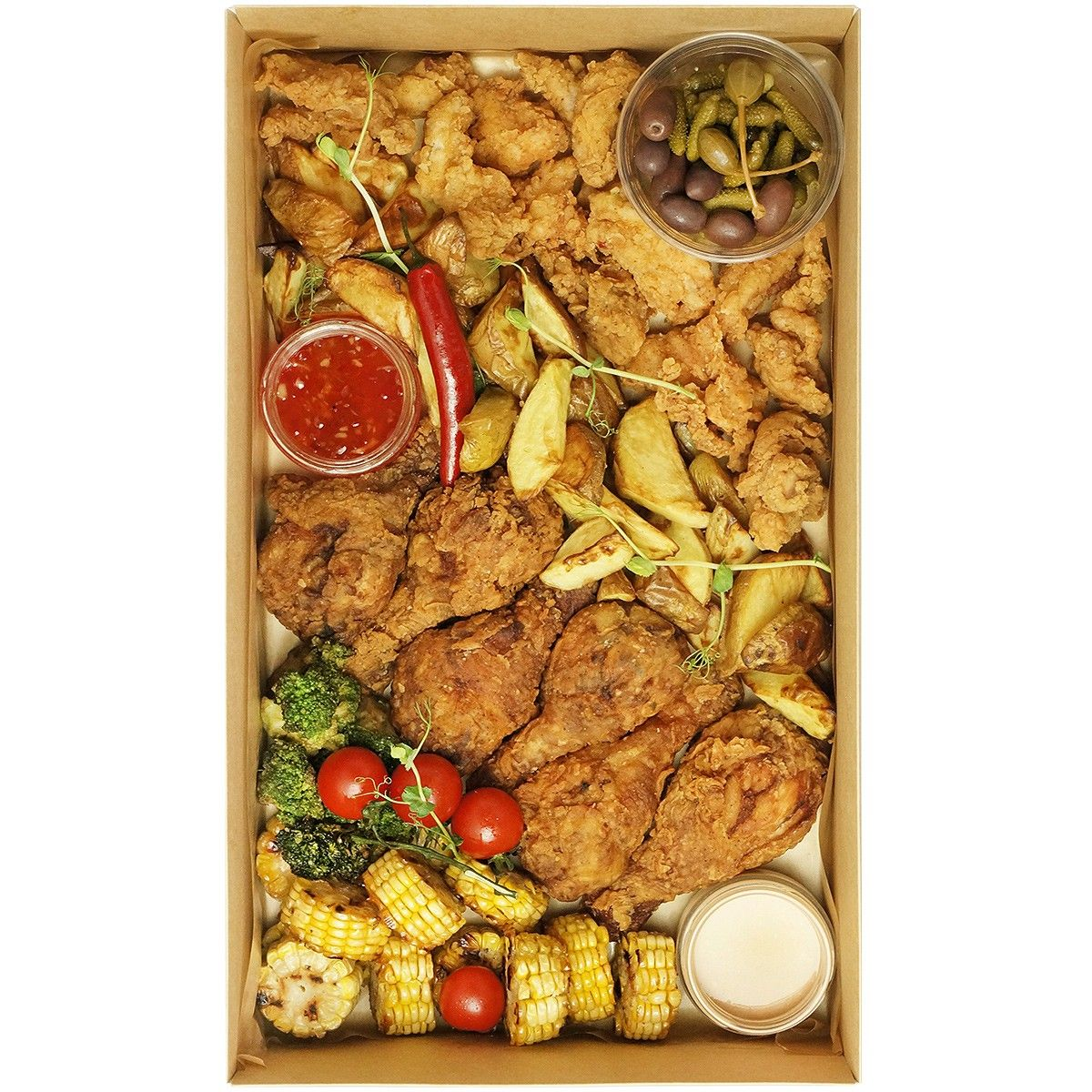 Fried chicken big box: 999 грн. фото 4