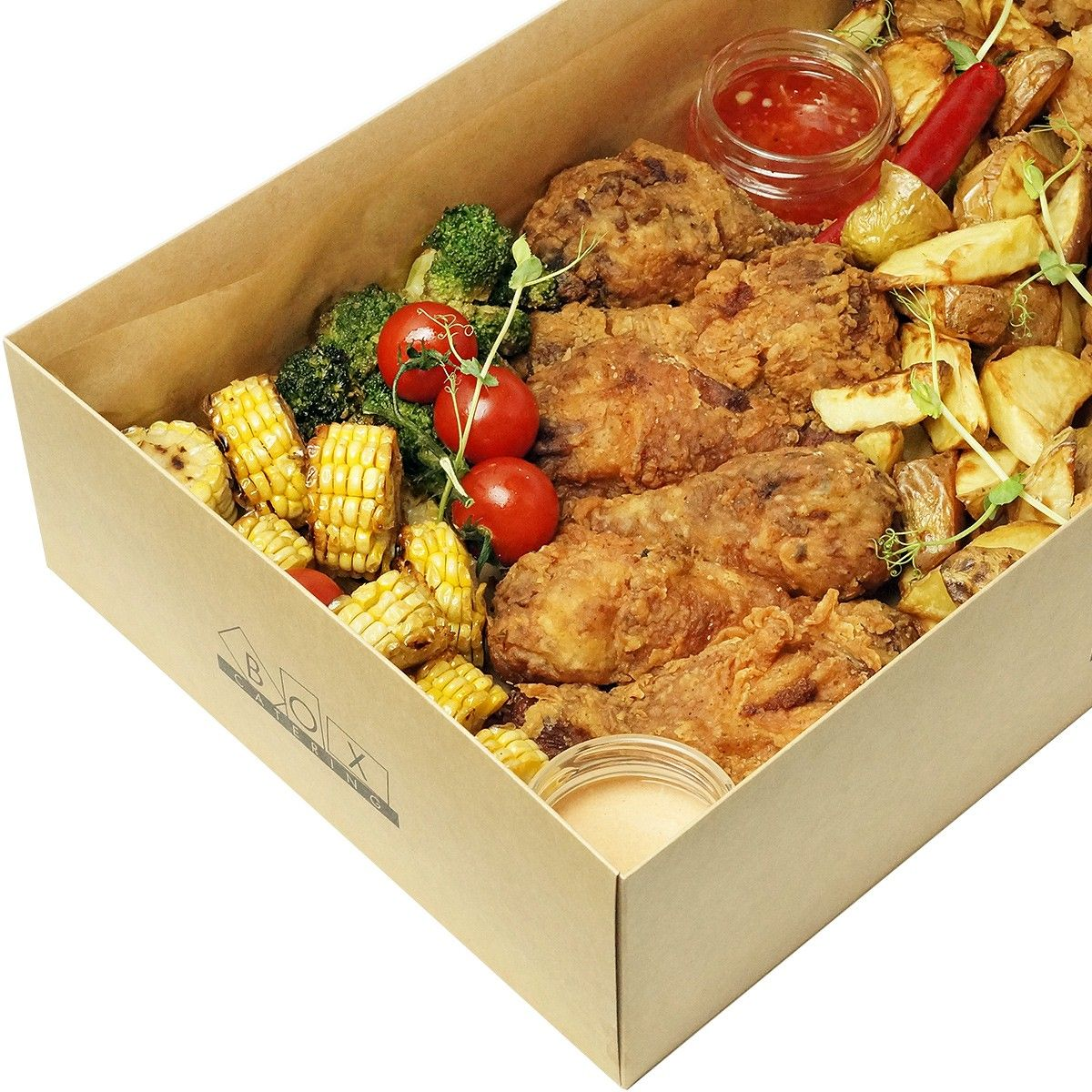 Fried chicken big box фото 2