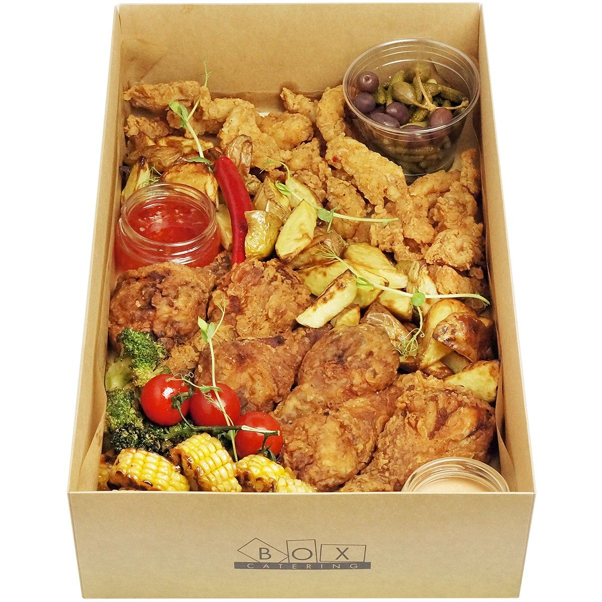 Fried chicken big box фото 3