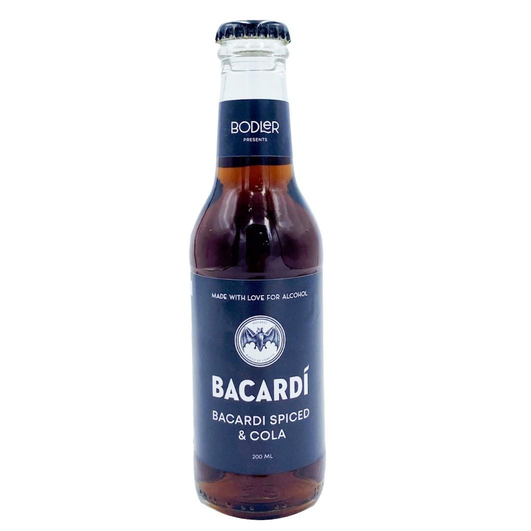 Bacardi Spiced & Cola фото 1